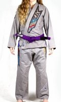 Contract Killer Women`s Jiu jitsu Gi SLAY Gray