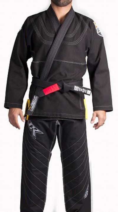 Photo1: Contract Killer Jiu jitsu Gi FRESHMAN Black