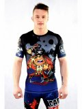 ASURA Rashguard CAPTAIN HEEL HOOK  Short Sleeve Black