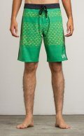 RVCA Board  Shorts MAKUA TRUNK Green