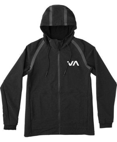 Photo4: RVCA GRAPPLER2 JACKET Black