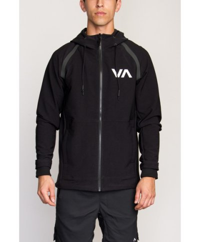 Photo1: RVCA GRAPPLER2 JACKET Black