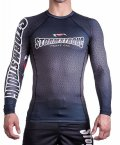 STORM STRONG Rash Guard RANK long sleeve Black