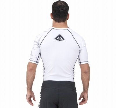 Photo2: VULKAN Rashguard CHALLENGE Short Sleeve White