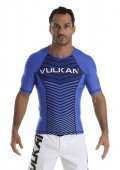 VULKAN Rashguard RANKED Short Sleeve Blue