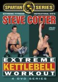 DVD Steve Cotter Extreme KETTLEBELL Workout 4 disc sets