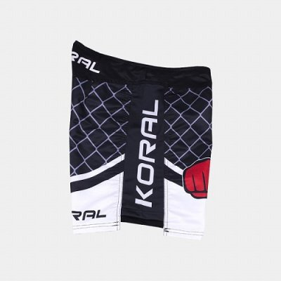 Photo3: KORAL Combat Shorts NEW CAGE Black