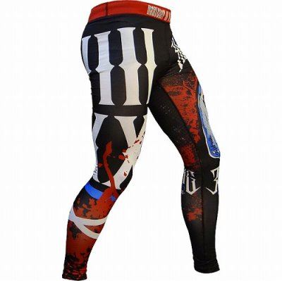 Photo2: HCT Long Spats ANATOMY OF A FIGHTER Black