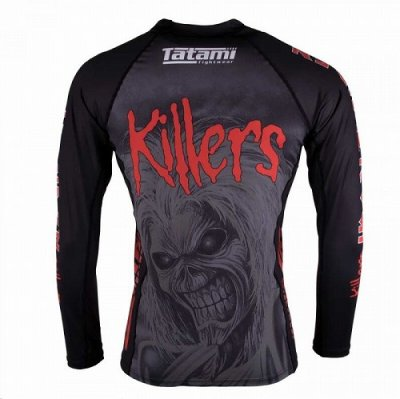 Photo3: Tatami Rashguard Tatami x Iron Maiden Killers Long Sleeve