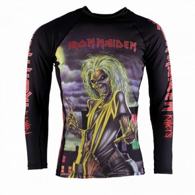 Photo1: Tatami Rashguard Tatami x Iron Maiden Killers Long Sleeve