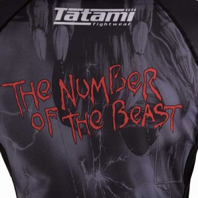 Photo4: Tatami Rashguard Tatami x Iron Maiden Number of the Beast Long Sleeve