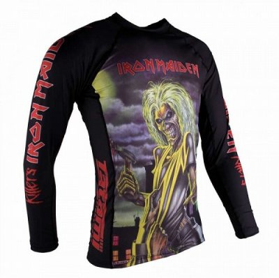 Photo2: Tatami Rashguard Tatami x Iron Maiden Killers Long Sleeve