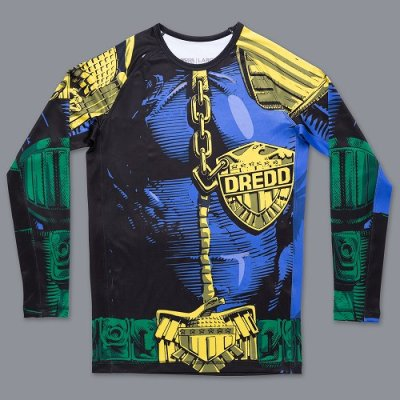 Photo4: Scramble Rash Guard SCRAMBLE X JUDGE DREDD THE LAW Long Sleeve