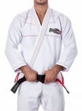 STROM STRONG Jiu Jitsu Gi RED LINE White