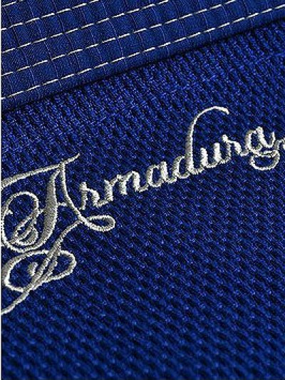 Photo4: Grips Jiu-jitsu Gi ARMADURA Blue
