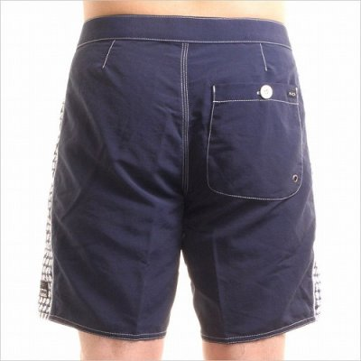 Photo2: RVCA Board  Shorts NO WAVE COMPILATION Navy