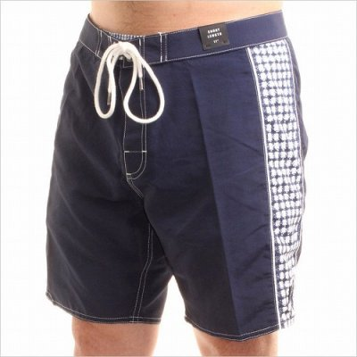 Photo1: RVCA Board  Shorts NO WAVE COMPILATION Navy