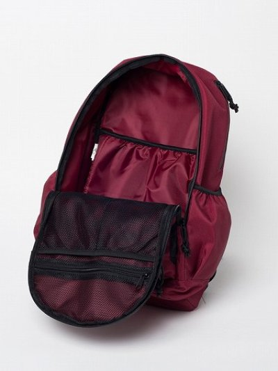 Photo4: RVCA Backpack PUSH SKATE DELUX  Red/Navy