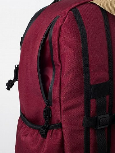 Photo3: RVCA Backpack PUSH SKATE DELUX  Red/Navy