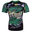 VENUM Rashguard CROCODILE Short Sleeve Black