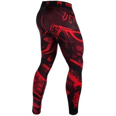 Photo3: VENUM Long Spats GLADIATOR 3.0 Black/Red