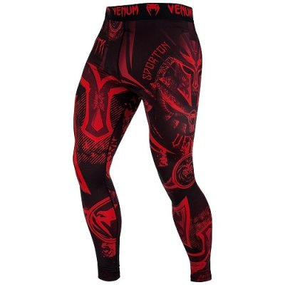 Photo1: VENUM Long Spats GLADIATOR 3.0 Black/Red