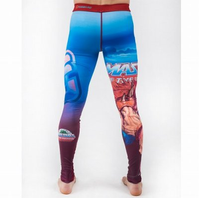 Photo4: FUSION Long Spats Masters of the Universe Beast Man Light Blue/Red