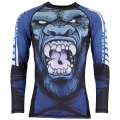 Tatami RashGuard GORILLA SMASH Long Sleeve Black