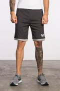 RVCA Short LAYERS II Black Heather
