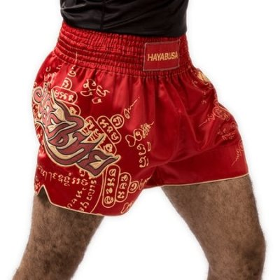 Photo2: Hayabusa Muay Thai shorts FALCON Red