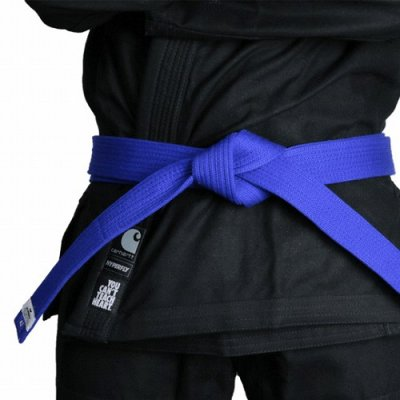 Photo1: HYPERFLY Jiu Jitsu Belt YCTH Blue