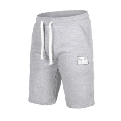 Photo1: BAD BOY Cotton Shorts CORE Gray  SALE