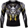 VENUM Rash Guard VIKING 2.0 LONG SLEEVE  Black/Yellow