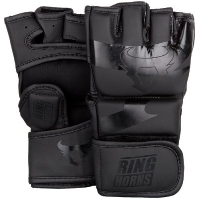 Photo1: RINGHORNS MMA Glove CHARGER Black/Black