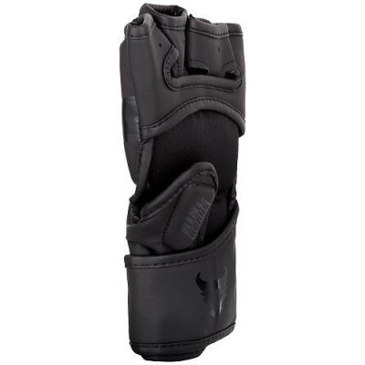 Photo4: RINGHORNS MMA Glove CHARGER Black/Black