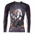 Tatami RashGuard CYBER THINKER MONKEY Long Sleeve Black
