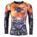 Tatami Rash Guard CYBER SAMURAI PANDA Long Sleeve