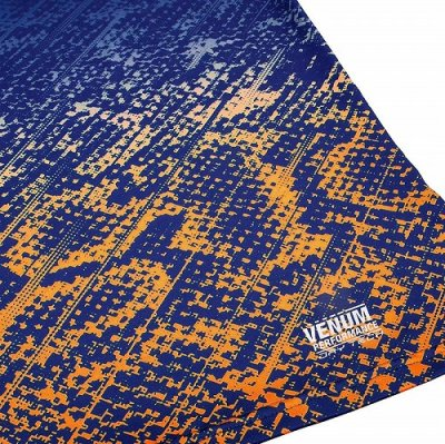 Photo4: VENUM Dry Fit T-Shirt TROPICAL Blue/Orange