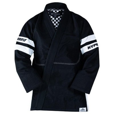 Photo1: HYPERFLY Jiu Jitsu Gi THE RACER Black