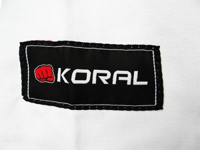 Photo4: KORAL KIDS Jiu Jitsu Gi REINFORCED White