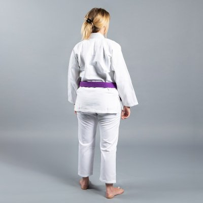 "Photo2: Scramble Lady`s Jiu Jitsu Gi ""Standard Issue - Semi Custom"" V2 White"