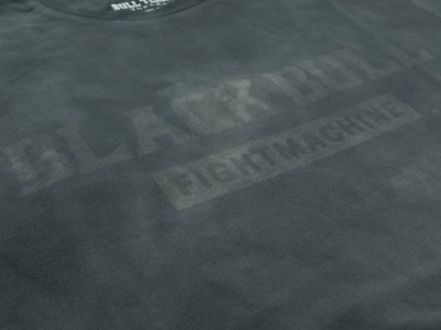 Photo3: BLACK BULL T-Shirts TIE DYE LOGO Light Gray
