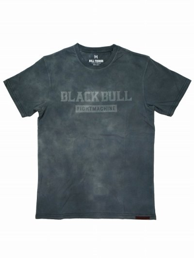 Photo1: BLACK BULL T-Shirts TIE DYE LOGO Light Gray