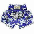 FLUORY Muay Thai Shorts MTSF09 Blue