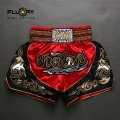 FLUORY Muay Thai Shorts MTSF12 Red
