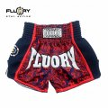 FLUORY Muay Thai Shorts MTSF29 Red