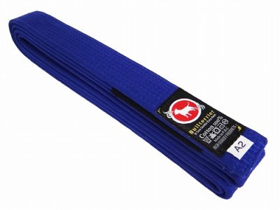 Photo1: BULLTERRIER Jiu Jitsu Belt 2.0 Blue