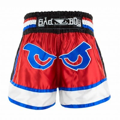 Photo4: BAD BOY Muay Thai Shorts KAO LOY Red/Blue/White  SALE