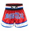 BAD BOY Muay Thai Shorts KAO LOY Red/Blue/White  SALE