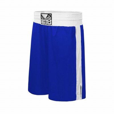 Photo1: BAD BOY Boxing Shorts STINGER Blue SALE
